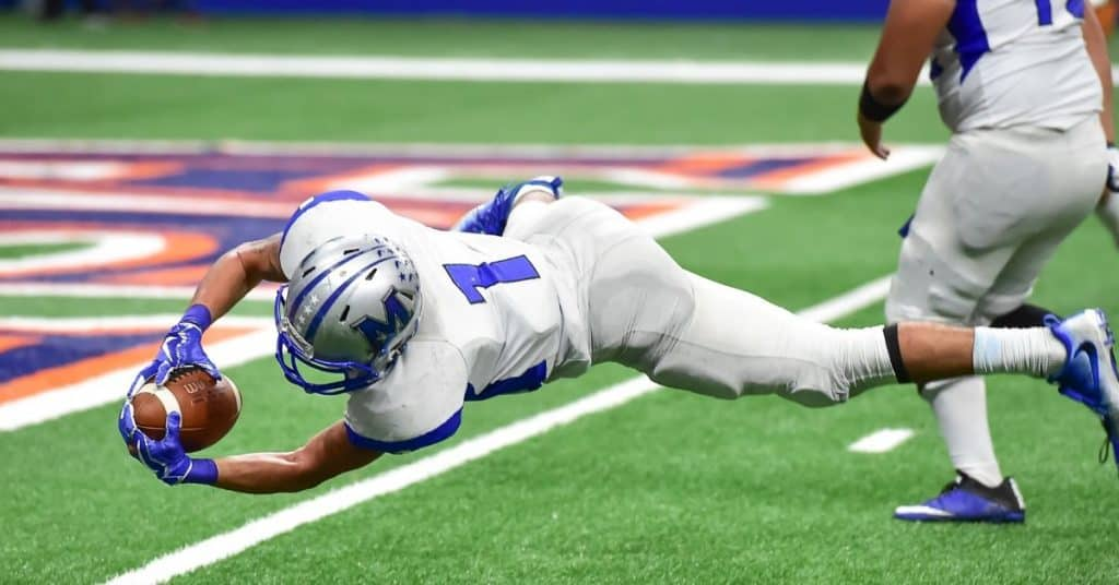 Try being scored at NFL game