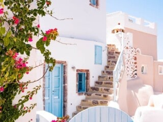 Santorini Greece one of the most romantic cities in the world